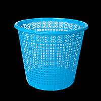 """Корзина для бумаги """"Zibi"""" 8 л синяя 3040-02 №ZB."""