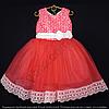 Детское платье бальное Марго (Коралл) Возраст 4-5 лет.