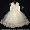 Детское платье бальное Марго (молочное) Возраст 4-5 лет.