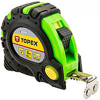 Рулетка Topex №27C343 3мх19мм,магнітна