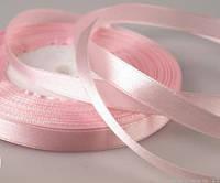 Лента атласная розовая 10 мм (25 ярдов)