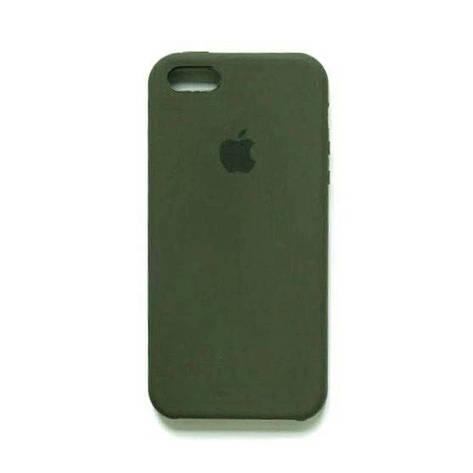 Силиконовый чехол Original Case Apple iPhone 5 / 5S / SE (03), фото 2