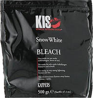 Обесцвечивающая пудра для волосся Kis Care Snow White Bleach