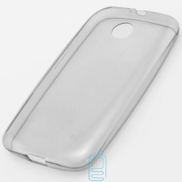 Чехол силиконовый Slim Motorola Moto E затемненный