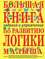 Большая книга заданий и упражнений на развитие логики малыша. Автор Светлова