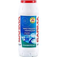 """Чистящий порошок для кухни и ванной 400 г """"Сарма"""" OV с антибактериальный эф. Универсал"""