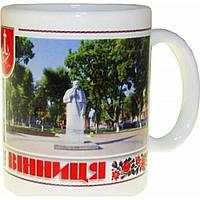 Чашка - сувенир 2 фото; усадьба Пирогова, Памятник Пирогову. №8