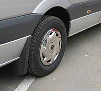 Колпаки из нержавейки Mercedes Sprinter W906 (1 катк., 4 шт)