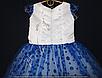 Детское платье бальное Крапинка (Синее) Возраст 4-5 лет., фото 2