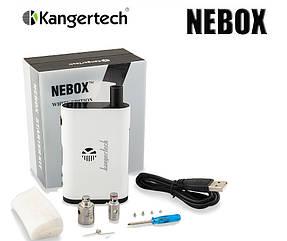Электронная сигарета Kanger NEBOX 60W TC Starter Kit, вейп Кангер Небокс 60вт Белый, Реплика