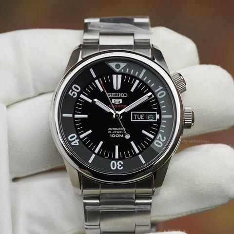 Часы Seiko 5 Sports SRPB27K1 Automatic 4R36