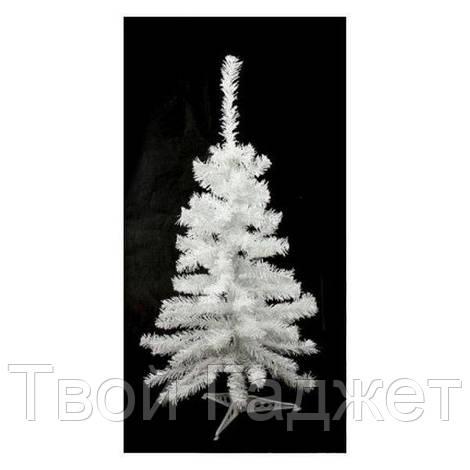 ОПТ/Розница Искусственная елка ПВХ белая, 1.0 м ВИДЕООБЗОР