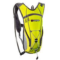 Рюкзак спортивний Caribee Hi Vis Flow 2L Yellow, фото 1