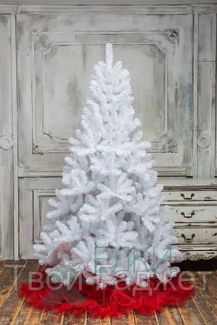 ОПТ/Розница Искусственная елка ПВХ белая, 1.5 см ВИДЕООБЗОР