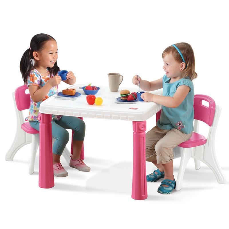 Детская мебель стол и стулья Step2 7196