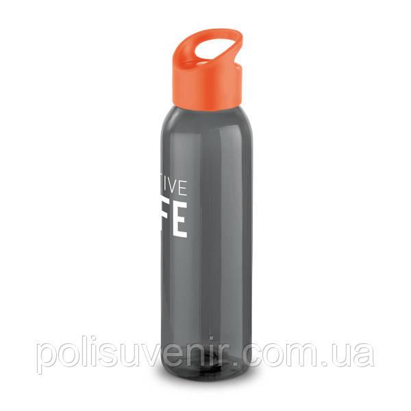 Пластикова спортивна пляшка 600 мл