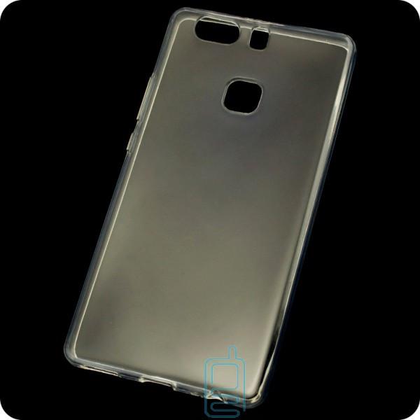 Чехол силиконовый Premium Huawei P9 Plus прозрачный