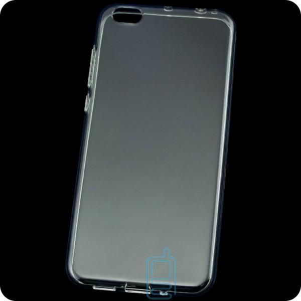 Чехол силиконовый Premium Xiaomi Mi5c прозрачный