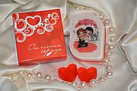 Мыло  -открытка. Love is...