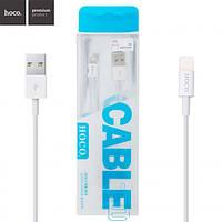 USB кабель Hoco UPL02 lightning 1.2m белый