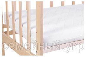 Детский матрас в кроватку Clima Comfort Elite - 10 см. (кокос, полиуретан, кокос) белый, фото 2