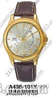 Q&Q A436-101Y Оригинальные часы