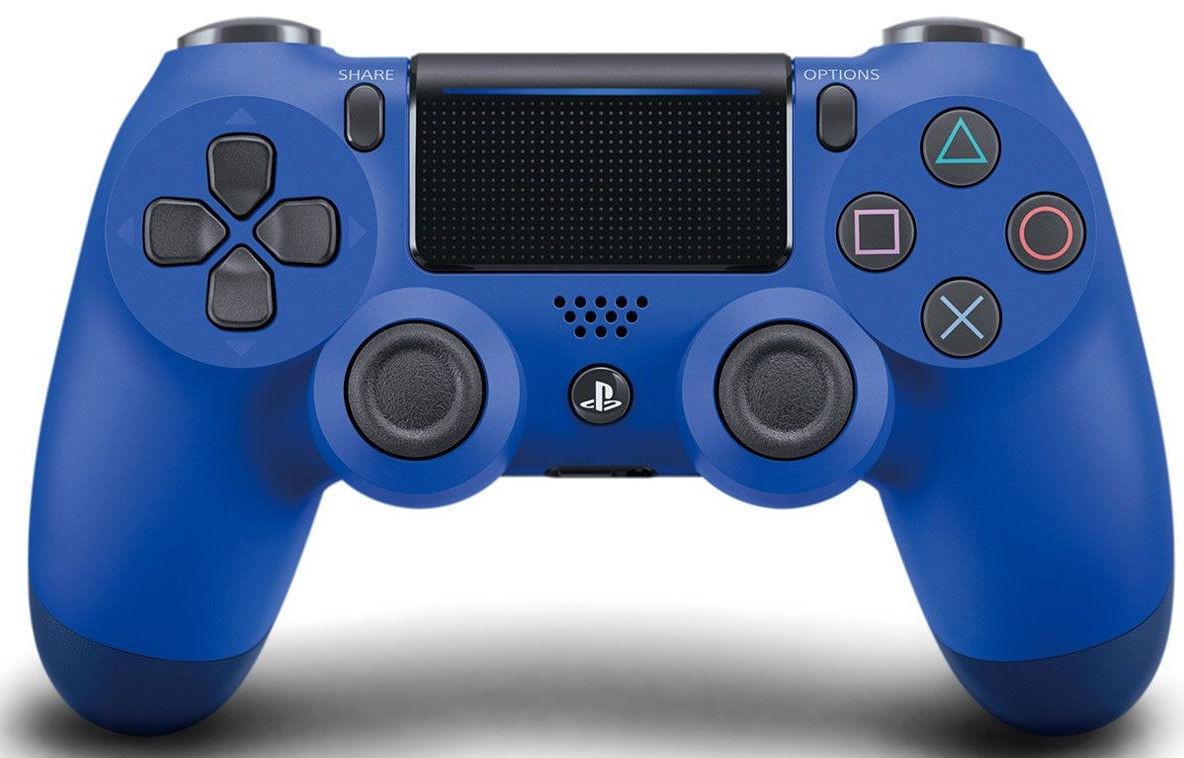 PlayStation Геймпад бездротовий PlayStation Dualshock v2 Wave Blue