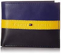 a37fbb8d47c8 Кожаный кошелек Tommy Hilfiger фирменный бумажник оригинал из США