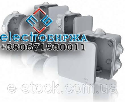Коробки монтажные (распределительные) влагостойкие для наружного монтажа
