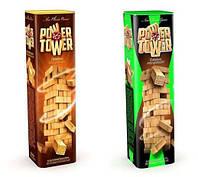"""Розвиваюча настільна гра VEGA """"POWER TOWER"""" 7802DT (56 брусків)"""