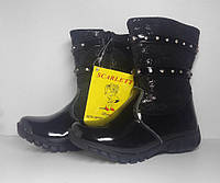Зимние черные лакированные сапоги для девочки Scarlett 29 размер 2c4d2bf8c645e