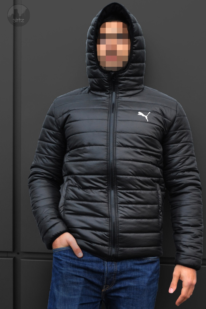 4e4ef2946ec6 Куртка Puma Winter Hooded Down Jacket черная  продажа