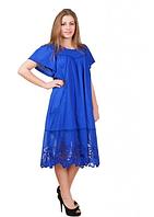 Платье женское летнее с ажурным низом