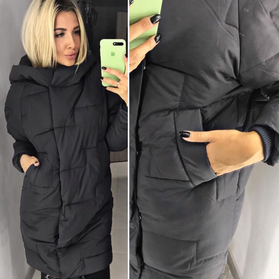 Женский Зимний Пуховик-пальто (производство Китай) — в Категории