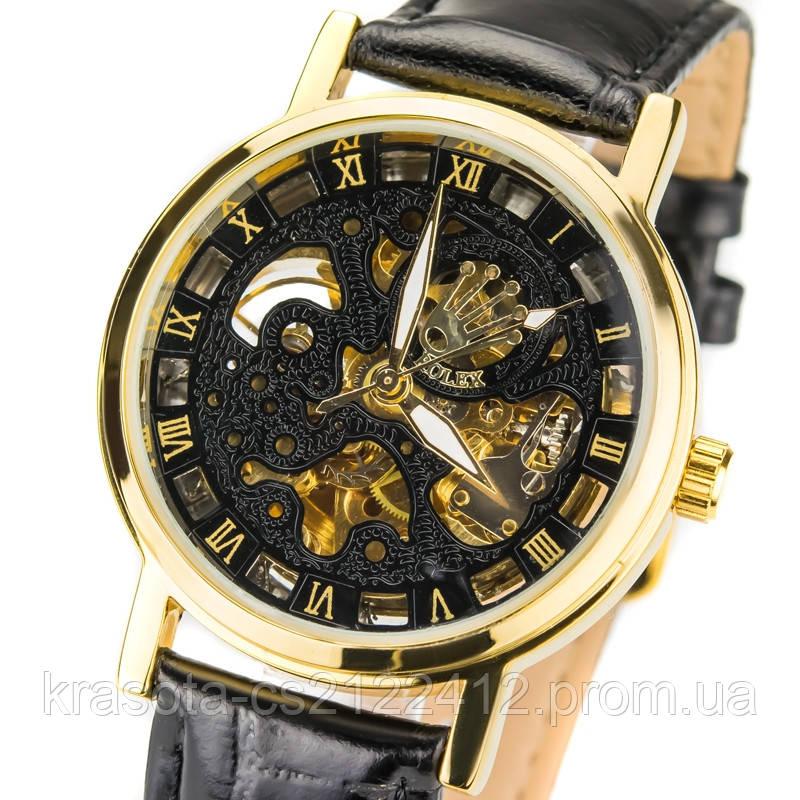 712e3534 Мужские механические часы Rolex Skeleton, цена 850 грн., купить в ...