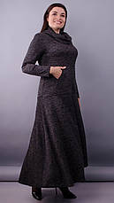 Платье макси женское демисезонное большие размеры: 50-64, фото 2