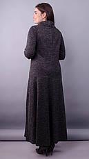 Платье макси женское демисезонное большие размеры: 50-64, фото 3