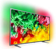 Телевизор Philips 55PUS6703/12 (PPI1100Гц, 4K Smart, Saphi TV, Quad Core, HDR+, HDR10, HGL, DVB-С/Т2/S2, 20Вт)