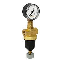 Регулятор давления для сжатого воздуха, нетоксичных и негорючих газов DN10. PN40. Tmax 70 °C. Диапазон настроек 1.0-10.0 бар, соединение - внутренняя