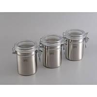 Набор банок для герметичного хранения GIPFEL 5584