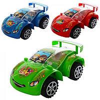 Ігр. заводн. Машина 15,5см,світ.,в кульку,15,5х9х6см,3 кольор. №GY6649(150)