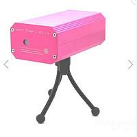 Лазерный проектор - стробоскоп, цветомузыка для баров, дискотек