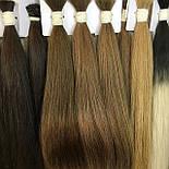 Славянские волосы на капсулах 50 см. Цвет #Русый, фото 5
