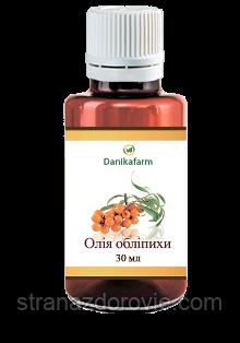 Масло обліпихи (Oleum Hippopheae) - 30