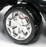 Колпаки на колесо для детского электромобиля BMW x8, фото 2