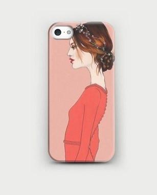 Чехол для Iphone (айфон) 4/4s, 5/5s, 6/6plus. С Вашим фото. (айфон). Код 44