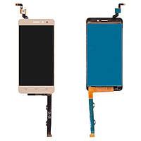 Дисплей (LCD) Lenovo K6 | K33a48 | K6 Power | K33a42 с тачскрином золотистый orig