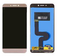 Дисплей (LCD) LeTV X500 One 1s | X501 | X502 | X5207 с тачскрином золотистый