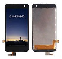 Дисплей (LCD) LG K130 | VS425 K4 с тачскрином чёрный