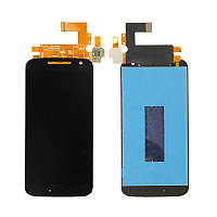 Дисплей (LCD) Motorola XT1622 Moto G4 | XT1620 | XT1621 | XT1624 | XT1625 | XT1626 с тачскрином чёрный orig